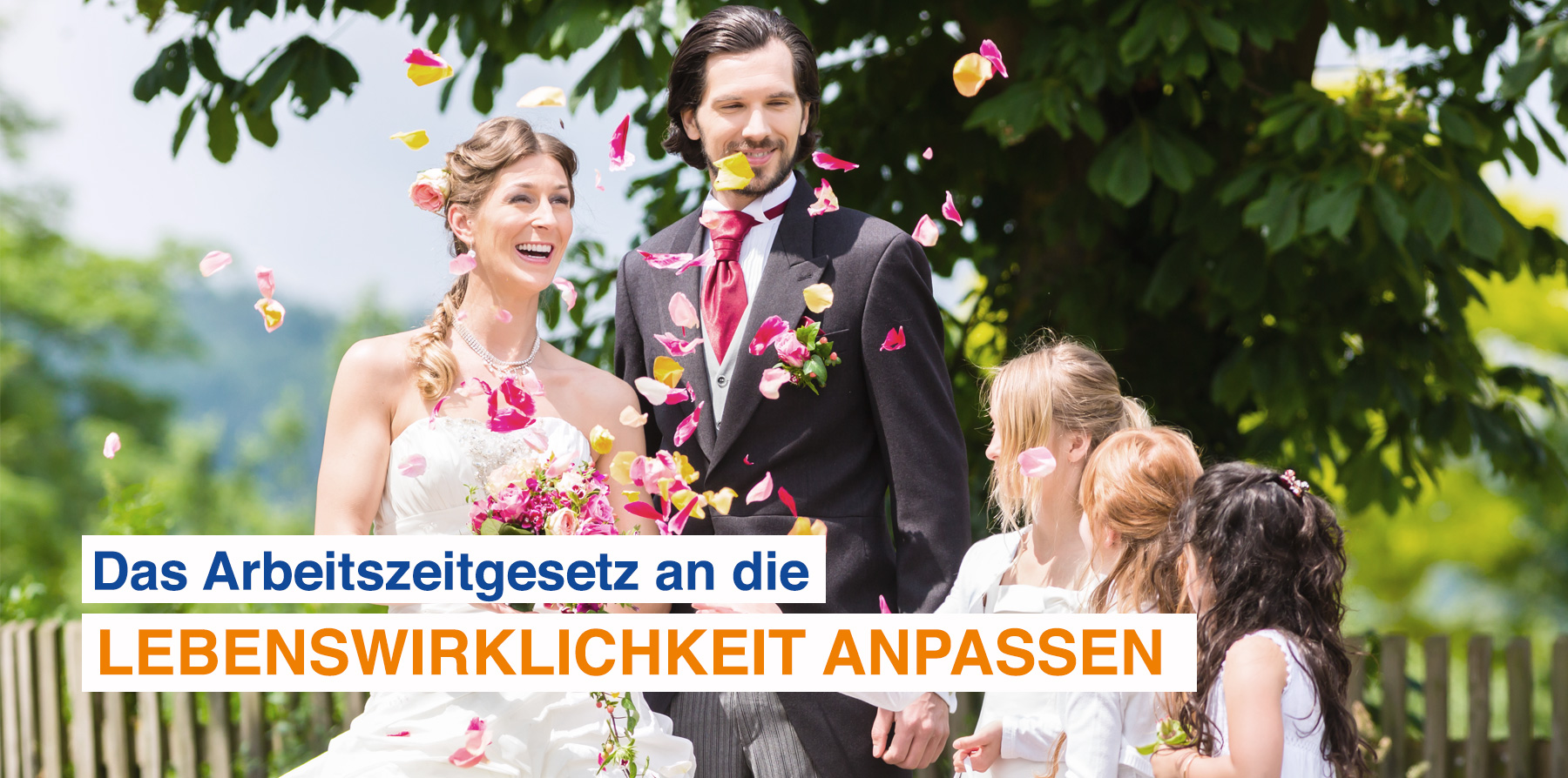 DEHOGA Bundesverband, Argumente - Hochzeitspaar