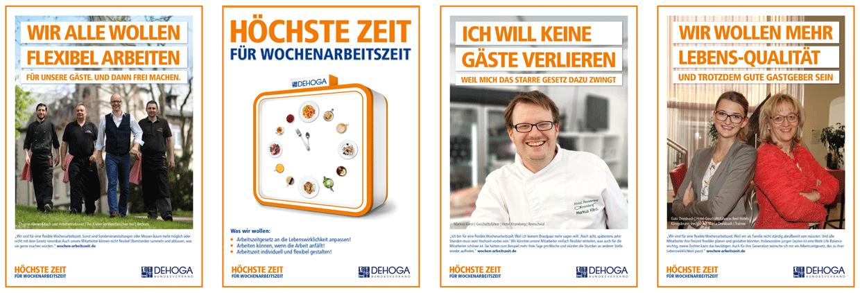 DEHOGE Bundesverband Plakat-Kampagne